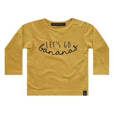 Popcorn Kids | Long sleeve Banana
