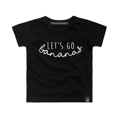 Popcorn Kids | let's go banana black