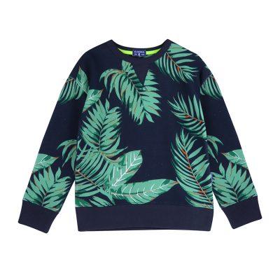 Popcornkids claesens sweater Leaf