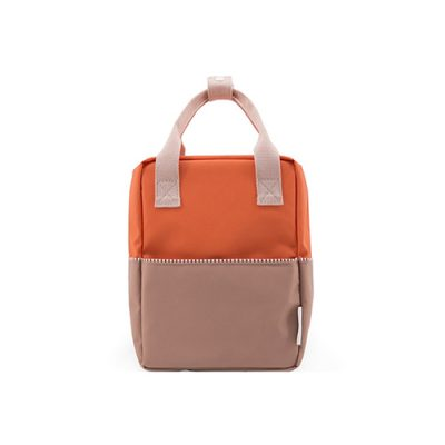 backpack 3 orange brown Popcornkids