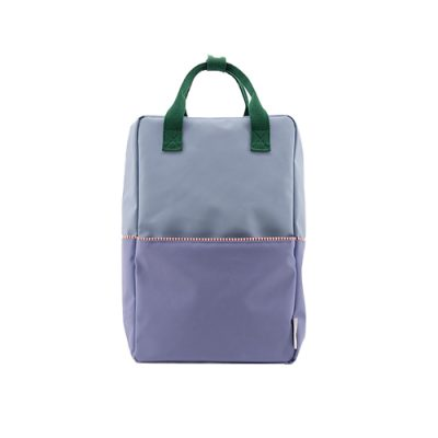 backpack l groen.blauw sticky lemon