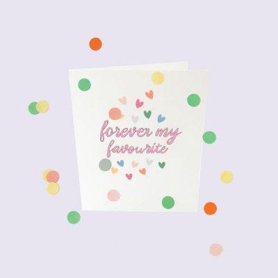Popconkids.confettikaart,forever