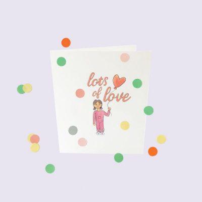 popcornkids.Confettikaart.love