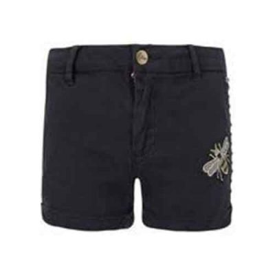 Popcornkids retour.short leatitia.black