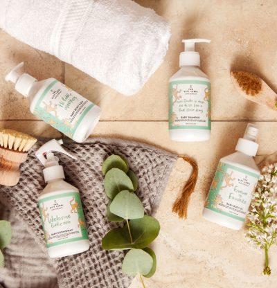 roomspray groen the gift label