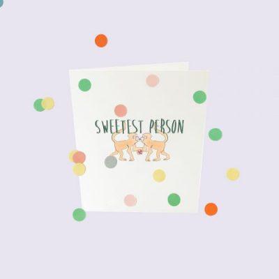 popcornkids.Confettikaart.sweet