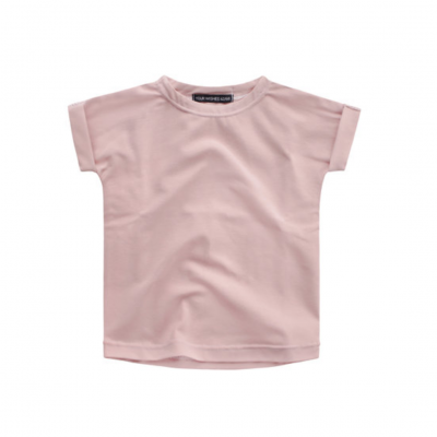 Your wishes tee blush pink