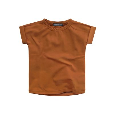popconkids.Your Wishes | Boxy Tee.cognac