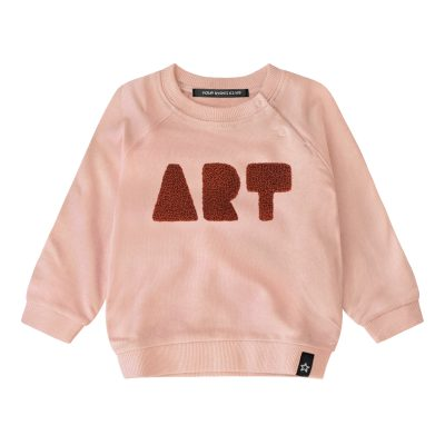 Your wishes popcornkids sweater art pink