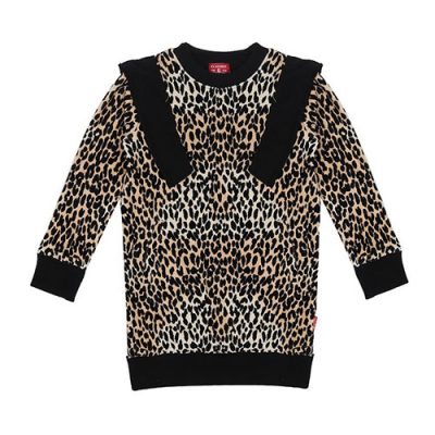 Claesens-popcornkids-sweater-brownpanther