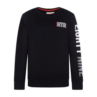 Retour-Sweater-Gino-zwart-popcornkids