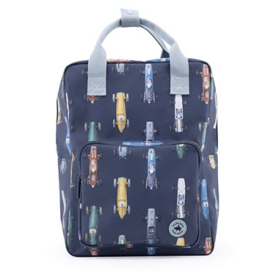 popcornkids - Studio Ditte - backpack large - boys - race cars