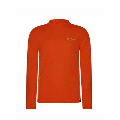 retour-sweater-lia-orange-popcornkids