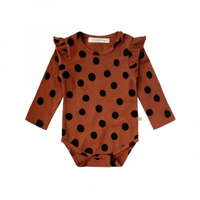 Popcornkids.Your Wishes-Romper-Dot