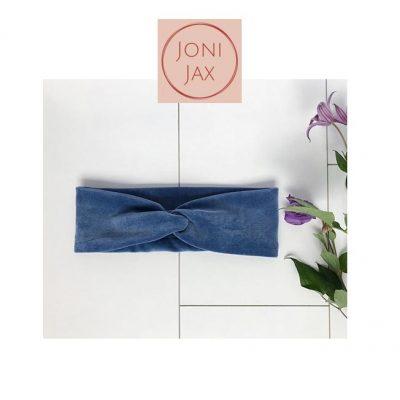 JoniJax-haarband-velvetblauw-popcornkids