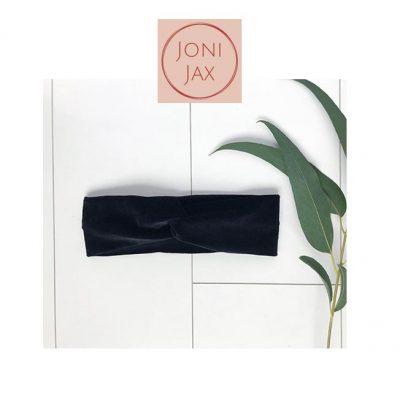 JoniJax-haarband-velvetzwart-popcornkids
