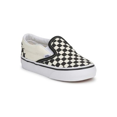 Vans-Classic slip on checkerboard.basis.popcornkids