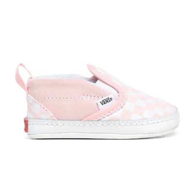 Vans-Slip-On-V-Crib-Checkerboard-Pink-voor.popcornkids-1