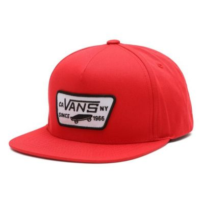 Vans-cap-red-popcorn-kids