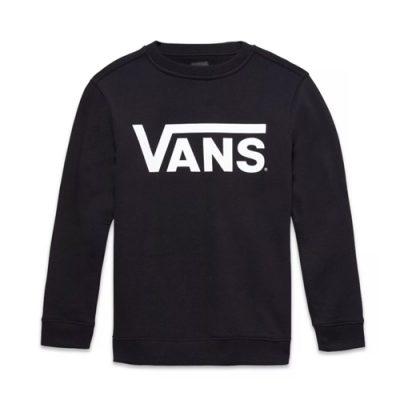 Vans-crew-neck-sweater-black-popcorn-kids