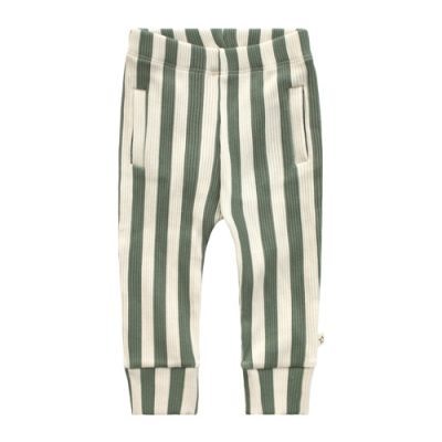 Your Wishes-Fitted pant-Bold stripes-Popcorn Kids