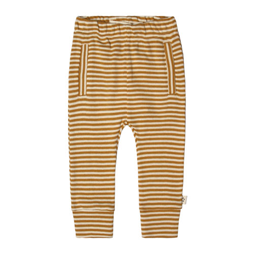 Your Wishes-Pant fitted-golden stripe-Popcorn Kids