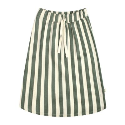 Your Wishes-Skirt Long-Bold stripes-Popcorn Kids