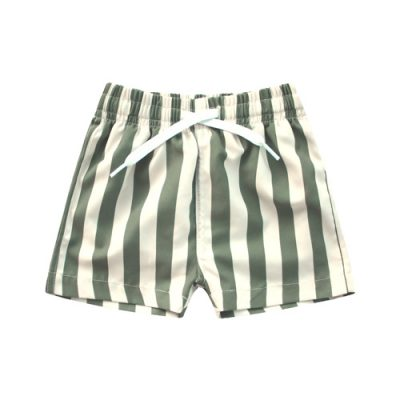 Your Wishes-Swimshort-Bold stripes-Popcorn Kids