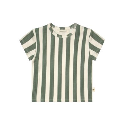 Your Wishes-T-shirt Loose-Bold stripes-Popcorn Kids