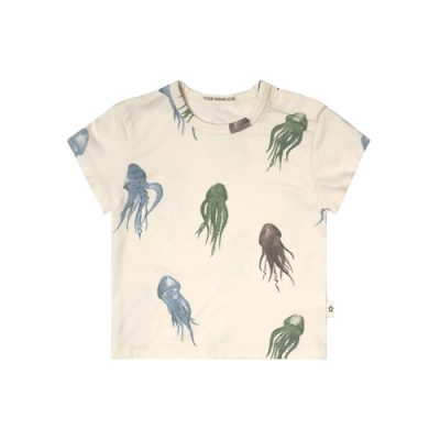 Your Wishes-T-shirt Loose-Jellyfish-Popcorn Kids