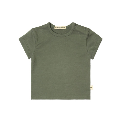 Your Wishes-T-shirt loose-old green-Popcorn Kids