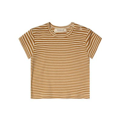 Your Wishes-Tee Loose-Golden stripe-Popcorn Kids