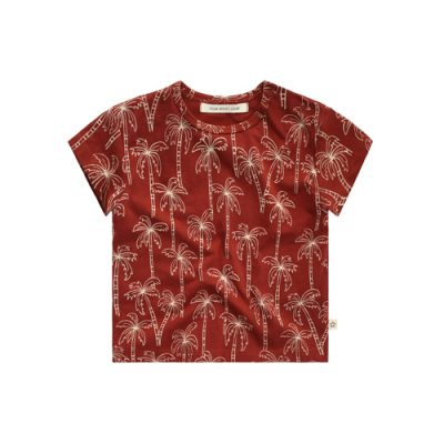 Your Wishes -T-shirt Loose palmtree-Popcorn Kids
