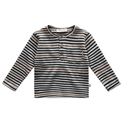 Your Wishes - Shirt Alfie - stripe-Popcorn Kids