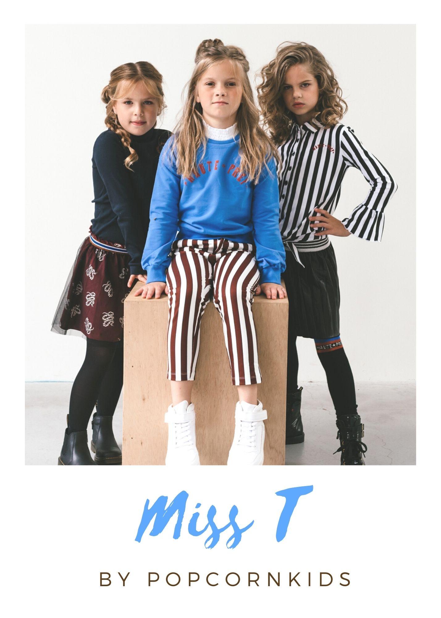 Miss T Topitm collectie najaar 2021 by Popcorn Kids Kinderkleding